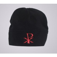 Chi Rho Fleece Beanie